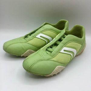 Geox Respira Leather Italian Sneakers